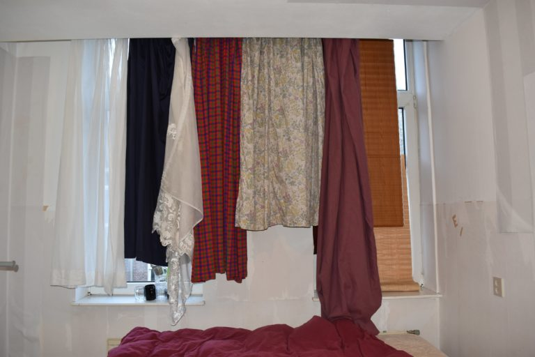 Multiple curtains